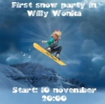 First snow party